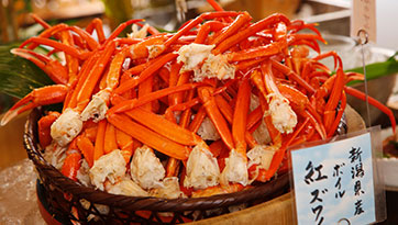 Our No.1 popular menu item: Crab